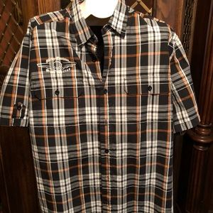 Harley Davison button up